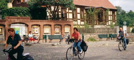 Flecken Zechlin: Ausgangspunkt der Radtour um den Großen Zechliner See.