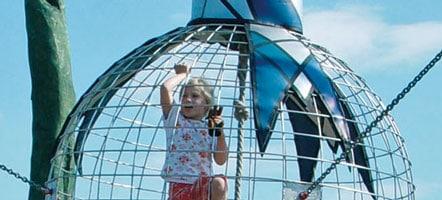 """Bei Kindern ist die """"Zauberblume"""" im Wangeliner Garten sehr beliebt. Foto: FAL e.V."""
