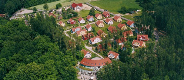 Das Müritzparadies - direkt am Müritz-Nationalpark am Südostufer der Müritz. Foto: Müritzparadies