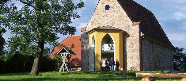 Neue Klänge in altem Gemäuer: Deutschlands erste Hörspielkirche. Foto: Hörspielkirche Federow