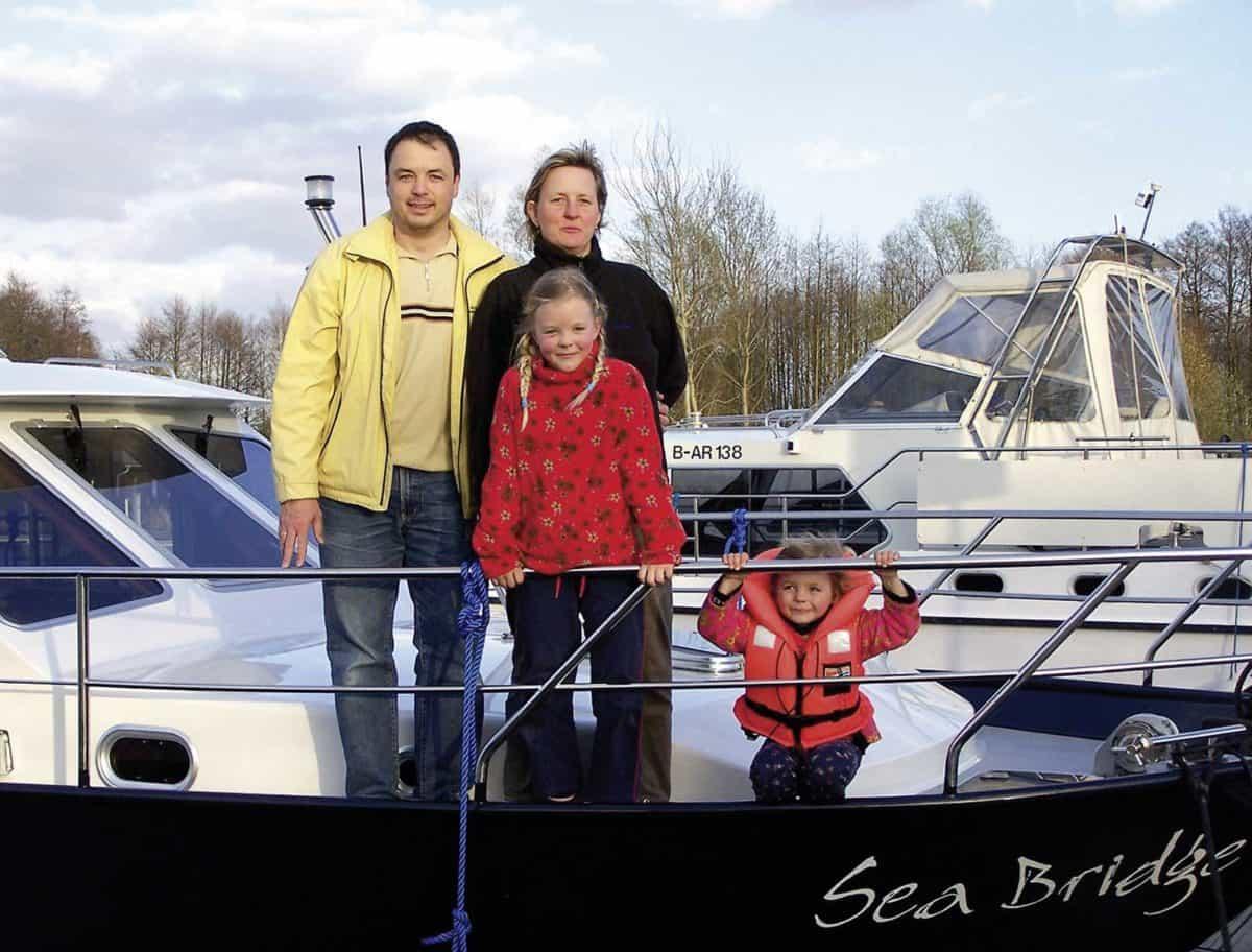 Familienurlaub auf dem Hausboot © privat