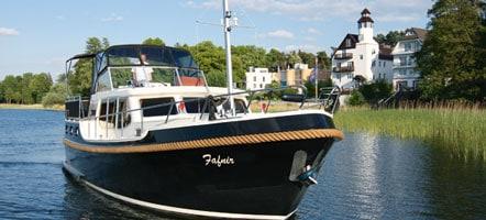 Hausbooturlaub in Brandenburg und Mecklenburg-Vorpommern