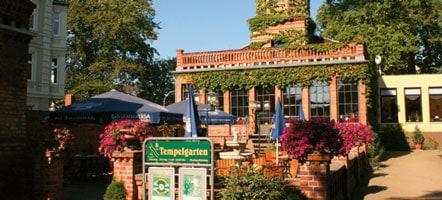 Heute erstrahlt der Tempelgarten wieder in seinem Glanz von 1794. © Magazin Seenland