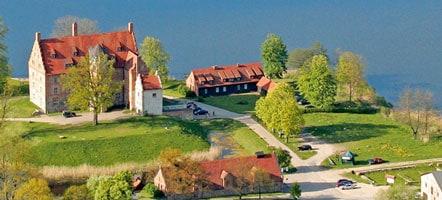 Von der Wasserburg zur Kulturhochburg - Schloss Ulrichshusen. © Schloss Ulrichshusen