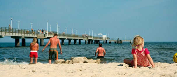Auf der Sonneninsel Usedom laden Seebäder und Achterland zum Entspannen ein.