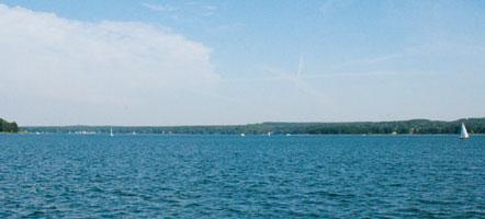 Paradies für Wassersportler und Kurort-Eldorado: der Scharmützelsee. © Magazin Seenland