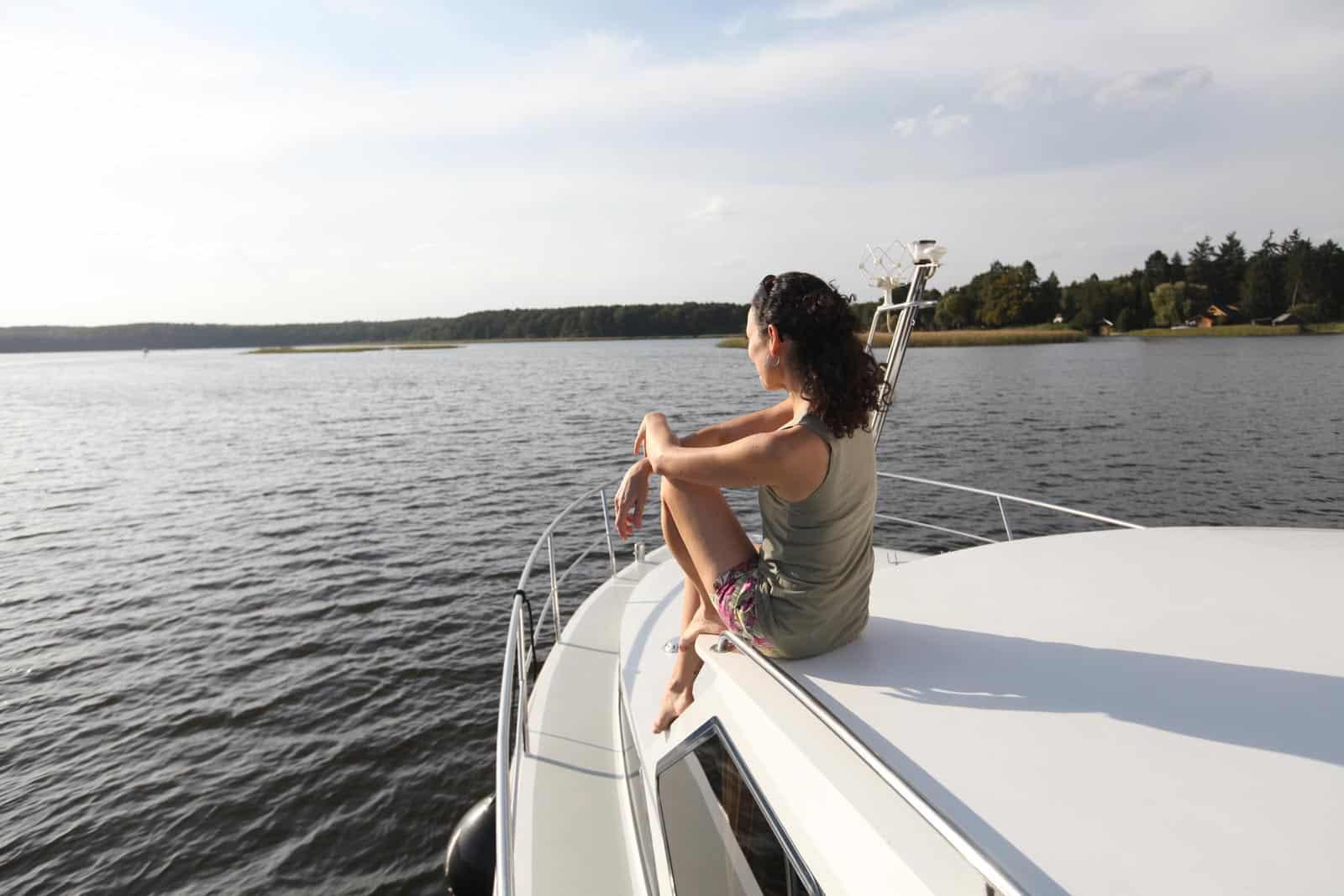 Vordeck Motoryacht Seenplatte