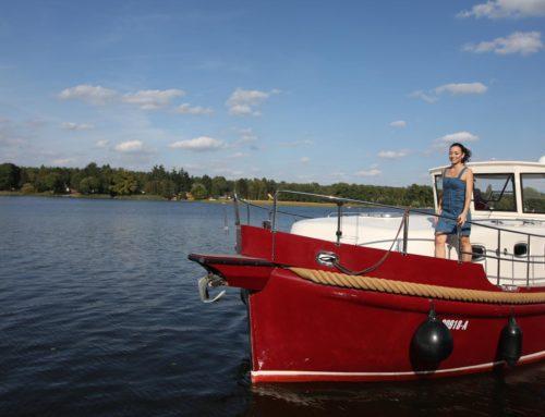 Mit dem Hausboot anlegen