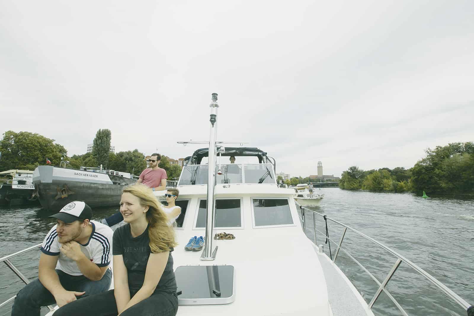 Bootstour Berlin-Spandau über Potsdam nach Brandenburg an der Havel © Magazin Seenland