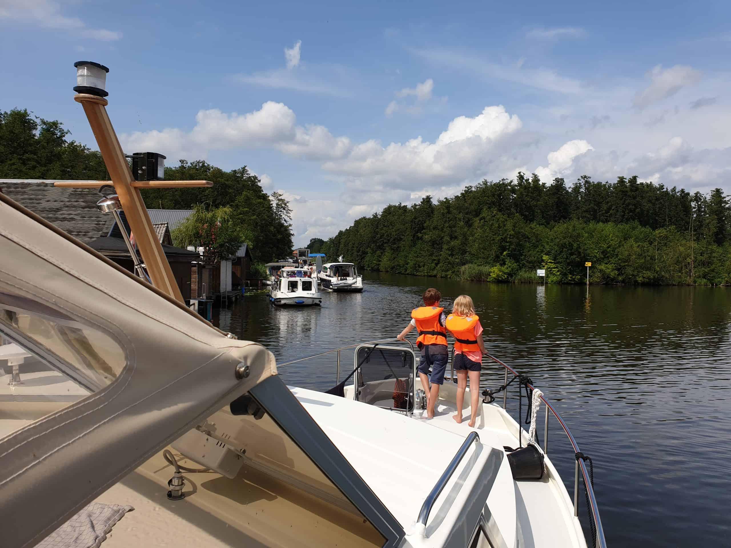 Hausboot Urlaub mit Kindern