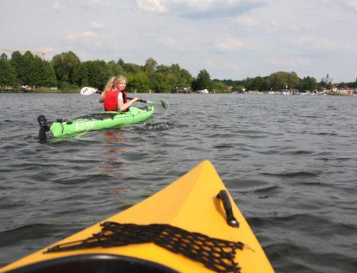 Mit dem Kanu unterwegs: Das 1mal1 des Wasserwanderns lernen